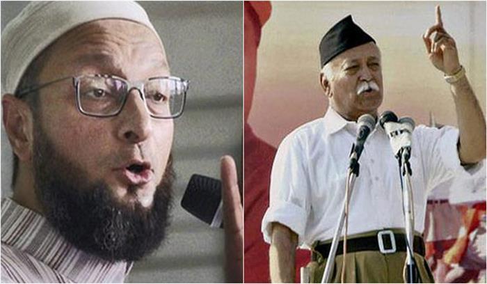 असदउद्दीन ओवैसी का मंदिर निर्माण वाले बयान पर संघ प्रमुख पर कड़ा प्रहार, कहा- क्या वे मुख्य न्यायाधीश हैं?