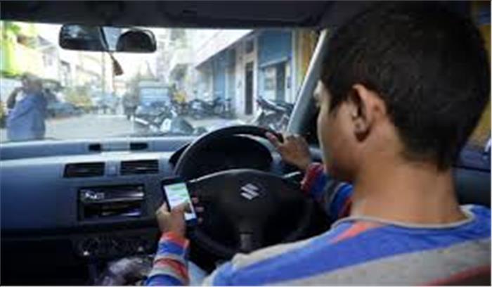 गाड़ी चलाते हुए मोबाइल पर बात करने वाले सावधान, डीएल पर लगेगा बैन