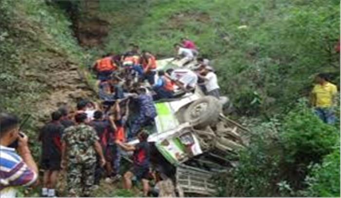 उत्तराखंड से लगने वाली नेपाल सीमा पर बस गिरी खाई में, 5 लोगों की मौत, 20 से ज्यादा घायल