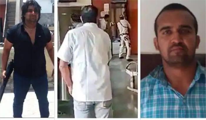 रोहिणी कोर्ट शूटआउट - जेल में रची गई जितेंद्र गोगी की हत्या की साजिश , नवीन बाली निकला मास्टरमाइंड