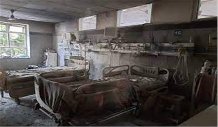 दिल्ली के सफदरजंग अस्पताल में लगी आग , आनन फानन में 60 मरीजों को किया दूसरी जगह शिफ्ट