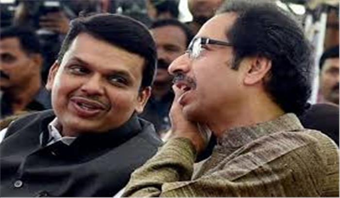 सत्ता में आने के लिए राष्ट्रपति शासन की धमकी दे रही भाजपा , विधायकों को डराया जा रहा - शिवसेना
