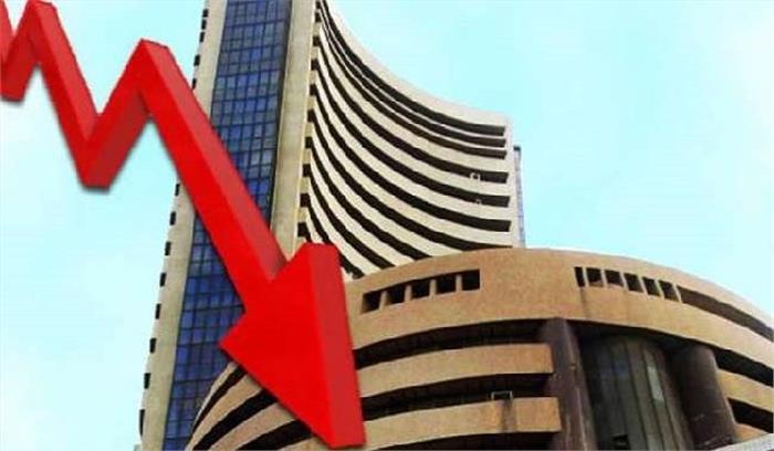 शेयर बाजार हुआ धड़ाम , Sensex 750 अंक टूटकर 39,000 के नीचे, तो निफ्टी 250 अंक गिरा
