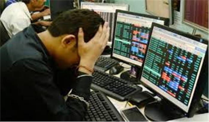 अंतरराष्ट्रीय बाजार में बिकवाली से भारतीय बाजार धड़ाम , सेंसेक्स 642 अंक टूटा, निफ्टी में भी गिरावट