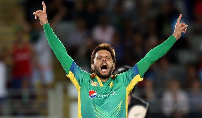 शारजाह की T20 लीग में बूम-बूम का धमाका, आफरीदी ने पहली ही गेंद पर सहवाग को दिखाया मैदान के बाहर का रास्ता