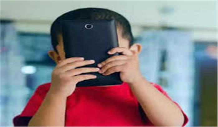 सावधान : लाड़लों को स्मार्टफोन देकर आप रोक रहे हैं उनका शारीरिक - मानसिक विकास , WHO ने तय किया बच्चों के लिए स्क्रीन टाइम
