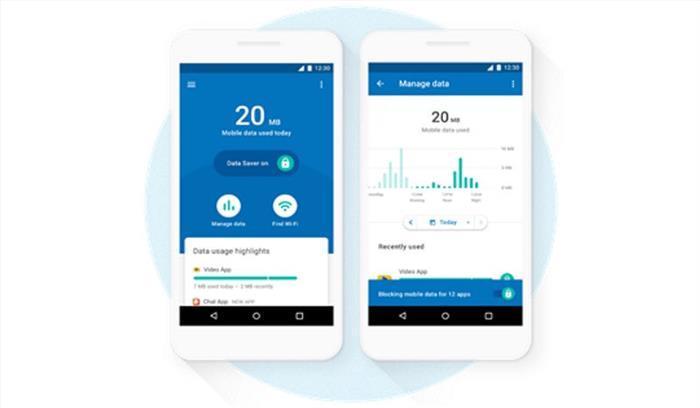 अब मोबाइल डाटा खपत पर नजर रखेगा 'डेटैली', गूगल ने पेश किया नया एप