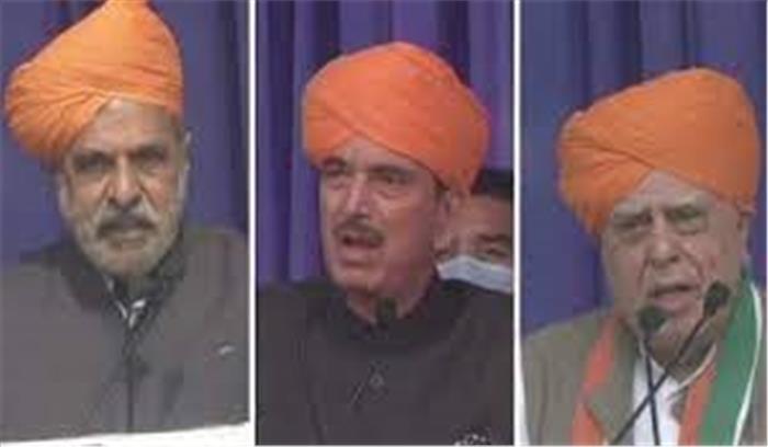 कांग्रेस में सोनिया गांधी को ही घेर रहे हैं वरिष्ठ नेता , अब आनंद शर्मा ने उठाई ये मांग