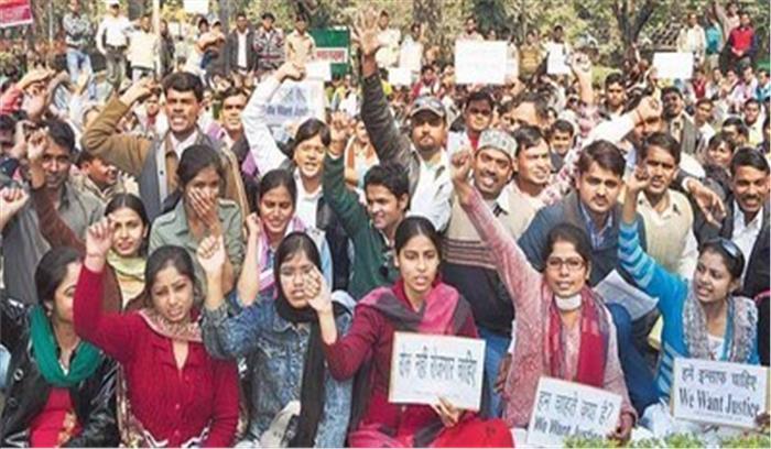 सरकार की अनदेखी से तनाव में विशिष्ट बीटीसी, आंदोलन में हिस्सा लेने आ रहे 2 शिक्षकों की मौत