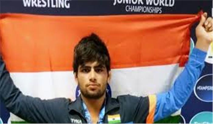 विश्व जूनियर कुश्ती चैम्पियन में साजन ने रचा इतिहास, जीता रजत पदक