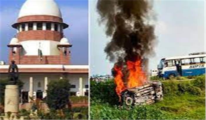 सुप्रीम कोर्ट ने लखीमपुर कांड पर योगी सरकार को लगाई फटकार, मंत्री के बेटे की गिरफ्तारी नहीं होने पर नाराज