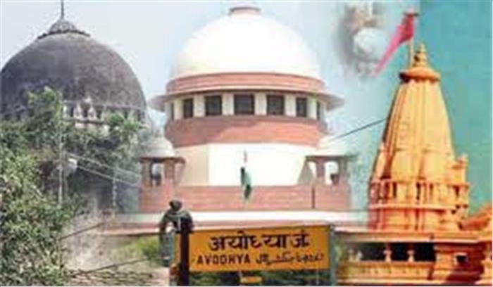 श्रीराम जन्मभूमि केस live  हिंदू पक्षकार बोले- मालिकाना हक मुस्लिम पक्ष को साबित करना है  मंदिर हमेशा मंदिर पर मस्जिद नहीं