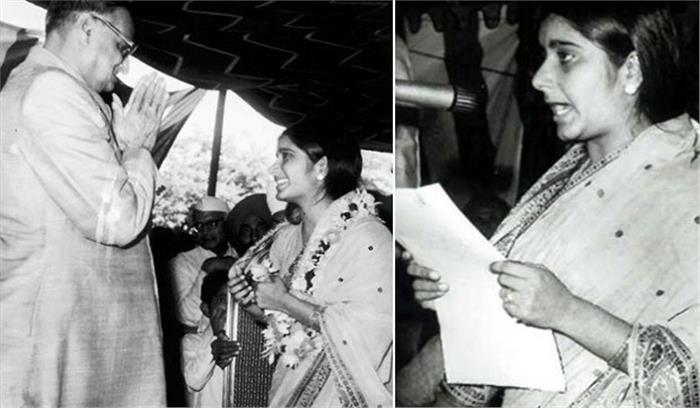यादों में सुषमा स्वराज : महज 25 साल की उम्र में संभाले 8 मंत्रालय , कई कीर्तिमानों के लिए हमेशा याद करेगा देश
