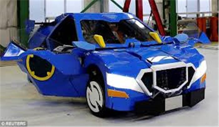 जापान ने तैयार किया 'ट्रांसफाॅरमर', महज 1 मिनट में तब्दील होगा स्पोर्टस कारमें