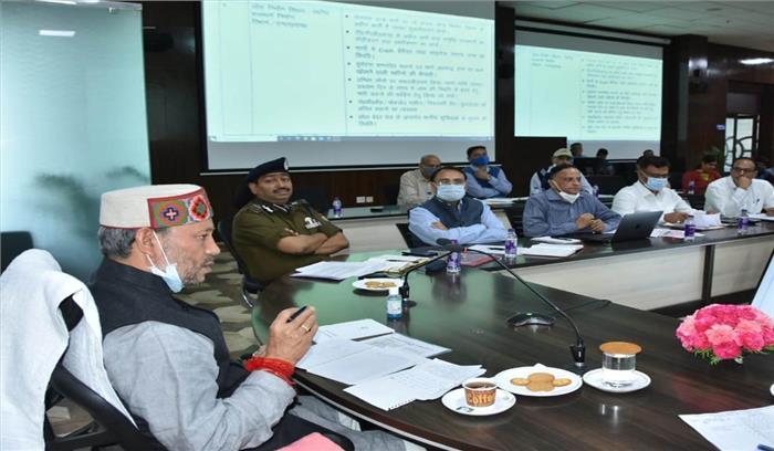 चारधाम यात्रा को लेकर सीएम ने सभी सचिवों को दिए 15 निर्देश , कहा - काम में ढिलाई बर्दाश्त नहीं करूंगा