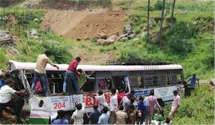 तेलंगाना में हुआ भीषण सड़क हादसा, 23 लोगों की मौत 20 घायल, सीएम ने किया मुआवजे का ऐलान