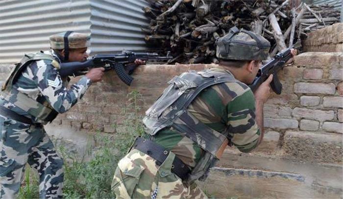 जम्मू—कश्मीर के अनंतनाग में मुठभेड़ में हिज्बुल आतंकी ढेर, क्रॉस फायरिंग में आम नागरिक की मौत