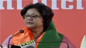 भाजपाई हुईं दिल्ली महिला कांग्रेस की पूर्व अध्यक्ष बरखा सिंह पार्टी ने 6 साल के लिए निकाल दिया था