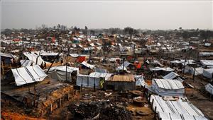 रोहिंग्या शरणार्थी शिविर में अंधाधुंध फायरिंग - चाकूबाजी  7 लोगों की हत्या