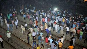 अमृतसर रेल हादसा - पार्षद की लापरवाही बनी दर्दनाक हादसे का कारण  अब तक 60 लोगों की मौत मौत पर अब राजनीति हुई शुरू