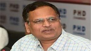 दिल्ली के अस्पतालों में ऑक्सीजन की कमी  स्वास्थ्य मंत्री बोले - राजस्थान - यूपी से आती है सप्लाई