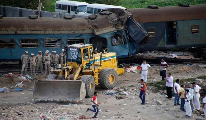 मिस्र में दो ट्रेनों की आमने—सामने की भिडंत, 40 की मौत, 130 घायल