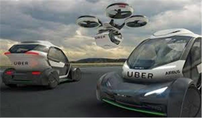 बड़े शहरों में बढ़ते ट्रैफिक की समस्या से निजात दिलाएगी उबर, लाएगी उड़ने वाली कार