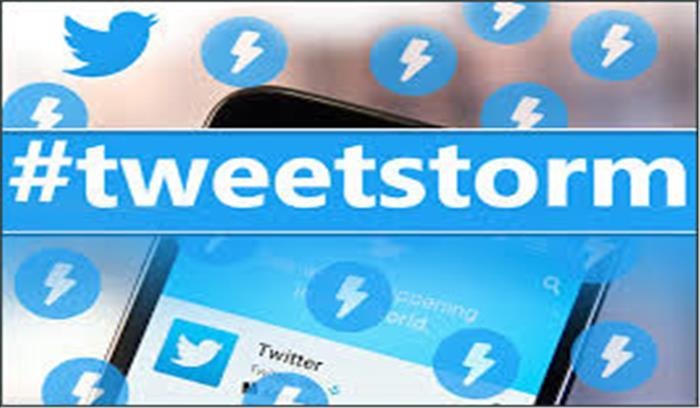 एक साथ कई ट्वीट करने वालों के लिए ट्विटर का तोहफा, ट्वीट स्टाॅर्म फीचर किया लाॅन्च