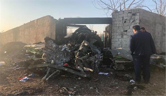 ईरान - यूक्रेन का यात्री विमान तेहरान में दुर्घटनाग्रस्त , सभी 170 यात्री- क्रू मेंबर की मौत