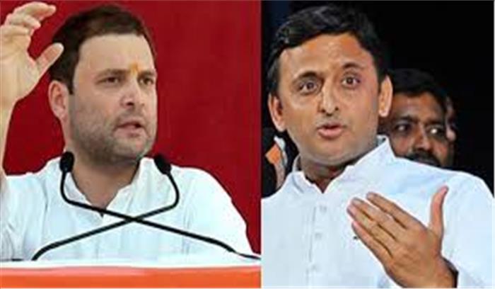 यूपी में सपा-कांग्रेस गठबंधन में बनने से पहले पड़ी दरार,सपा नेता बोले-उनका सिर्फ 54 सीटों का हक