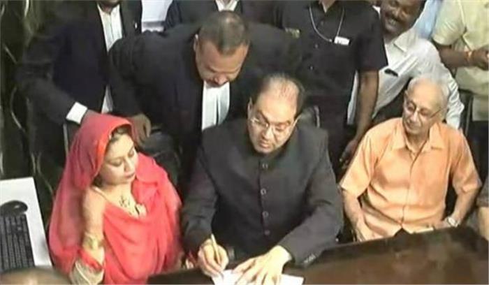 मोहसिन रजा ने कराया अपने निकाह का रजिस्ट्रेशन, दारुल उलेम ने बताया धार्मिक आजादी के खिलाफ