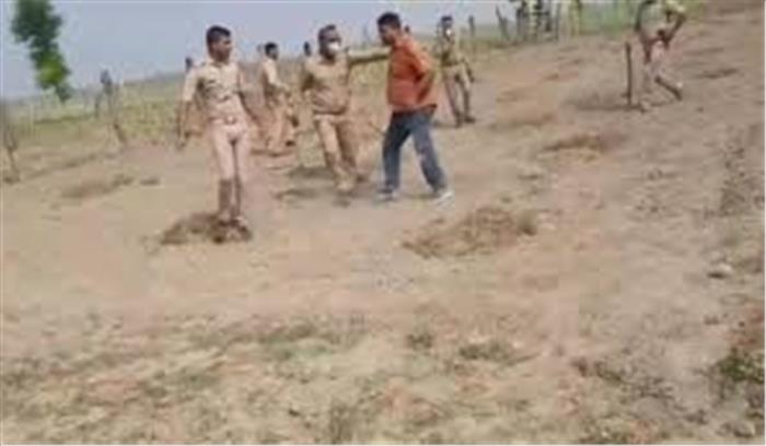 बलिया गोलीकांड - मुख्य आरोपी के भाई समेत 5 गिरफ्तार , भाजपा विधायक बोले - आत्मरक्षा में धीरेंद्र ने की फायरिंग