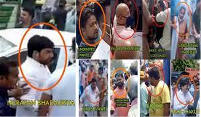 भाजपा नेता ने हिस्ट्रीशीटर को छुड़वाने के लिए पुलिस टीम पर किया