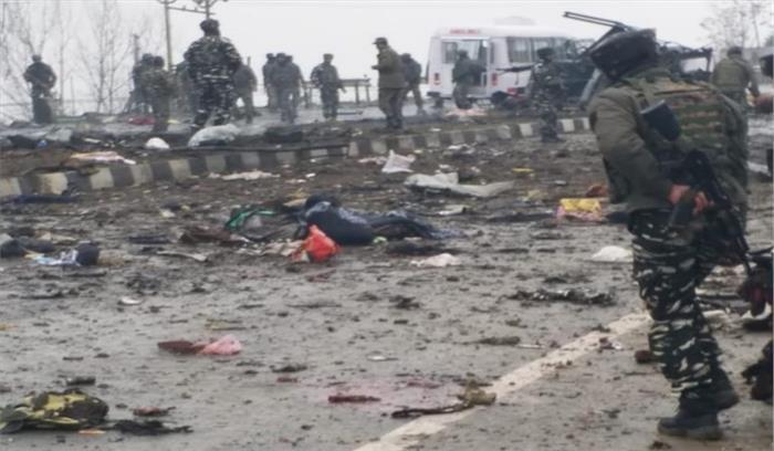 LIVE - उरी के बाद सेना पर दूसरा बड़ा आतंकी हमला , आत्मघाती आतंकी आदिल अहमद ने विस्फोटकों से भरी कार CRPF के वाहन से टकराई!