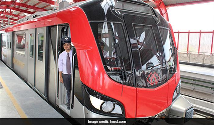 आज लखनऊ मेट्रो को राजनाथ सिंह और CM योगी आदित्यनाथ दिखाएंगे हरी झंडी
