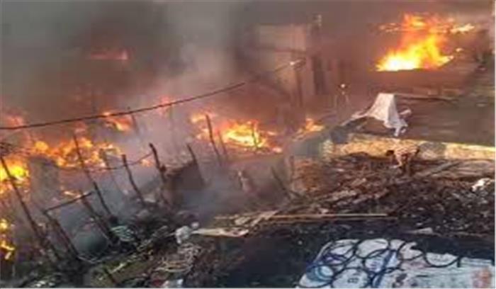 मेरठ में एक अफवाह ने उजाड़ दिए 100 घर , हिंसा पर उतारु लोगों का हाईवे पर उत्पात, रोडवेज की बसों -वाहनों में तोड़फोड़