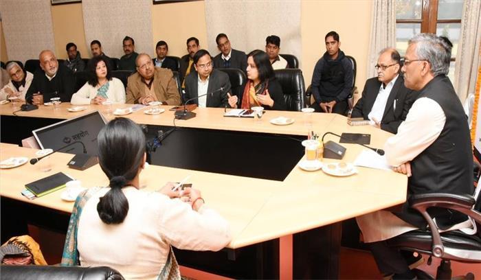 """CM ने कॉरपोरेट सामाजिक उत्तरदायित्व पोर्टल """"सहयोग"""" का किया शुभारम्भ , सरकार - उद्योग जगत में दूरियां होंगी कम"""