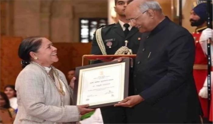 डा. माधुरी बड़थ्वाल को मिला नारी शक्ति पुरस्कार 2019 , आकाशवाणी की पहली महिला संगीत निर्देशक भी रही हैं