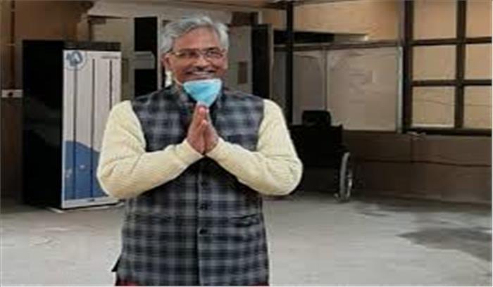 दिल्ली AIIMS से डिस्चार्ज हुए उत्तराखंड के सीएम त्रिवेंद्र सिंह रावत