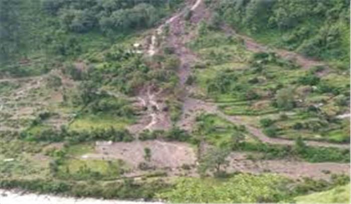 चमोली में भारी बारिश ने मचाई तबाही, भूस्खलन की चपेट में आने से कई गौशालाएं बहीं