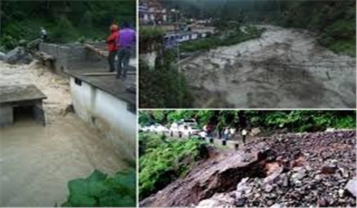 चमोली में चीन सीमा के करीब बादल फटा, कई मजदूर दबे, मकानों को भी नुकसान