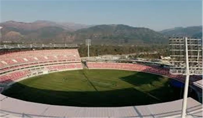 क्रिकेट के रोमांच से पहले नया विवाद, स्टेडियम से राजीव गांधी का नाम 'गायब', कांग्रेस ने जताई आपत्ति