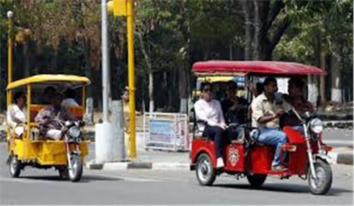 किराए पर ई-रिक्शा चलवाने वाले हो जाएं सवाधान, पंजीकरण होगा रद्द और गाड़ी भी होगी जब्त