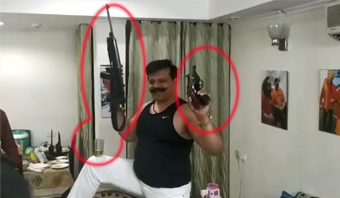 विधायक कुंवर प्रणव सिंह चैंपियन पर फिर गिरी गाज , जिलाधिकारी ने उनके 3 हथियारों का लाइसेंस रद्द किया