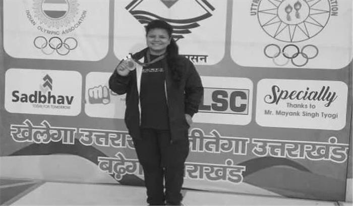 टनकपुर की मेघा राष्ट्रीय स्तर पर चुनी जाने वाली पहली महिला भारोत्तोलक, खेलो इंडिया खेलो में दिखाएगी अपना दम
