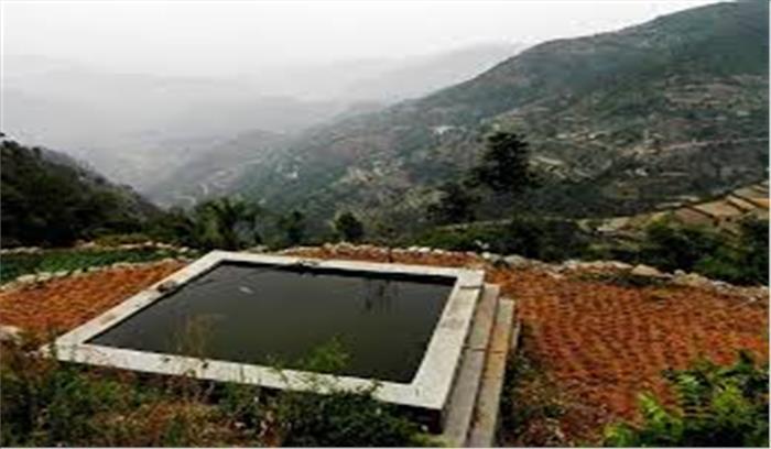 कौलागढ़ के 'हर्षमणि' किसानों और युवाओं के लिए बने मिसाल, बारिश के पानी का संचय कर सिंचाई का दे रहे ज्ञान