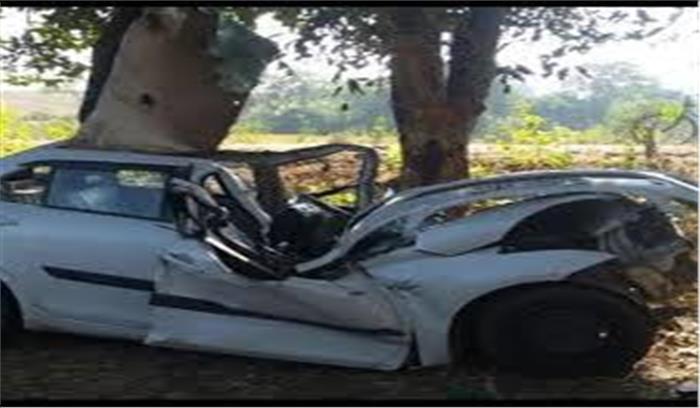 हल्द्वानी में हुआ भीषण सड़क हादसा, चालक समेत परिवार के 3 लोगों की मौत, मामूली चोट के साथ 2 साल का मासूम अस्पताल में