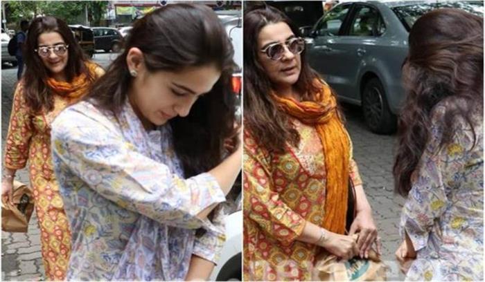 देहरादून में पटौदी परिवार की बहु अमृता -बेटी सारा अली खान संपत्ति विवाद को लेकर थाने पहुंची , केयरटेकर बोला-जबरन घर में घुसीं