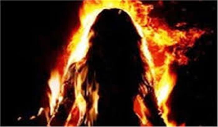 पीड़ित महिला ने न्याय न मिलने पर सीएम पोर्टल पर की शिकायत, आत्मदाह की दी चेतावनी