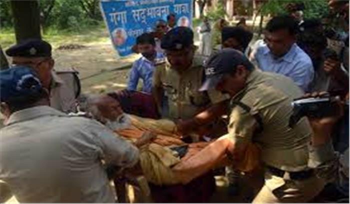गंगा को प्रदूषण से मुक्त कराने के प्रयास को लगा बड़ा धक्का, आमरण अनशन पर बैठे स्वामी का अस्पताल में निधन